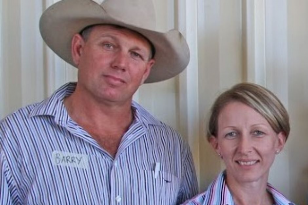 Barry and Leanne O'Sullivan